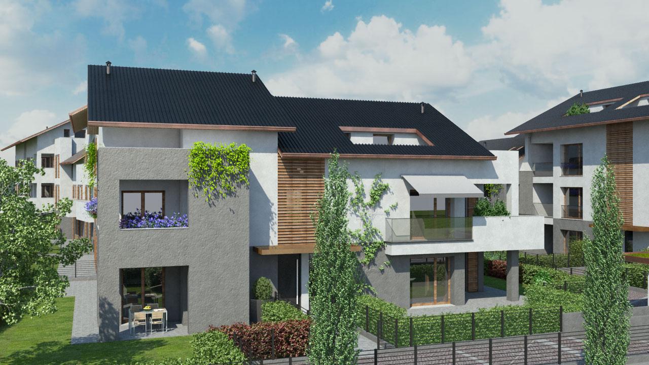 Appartamenti di nuova costruzione a carnate for Progetti architettonici in vendita